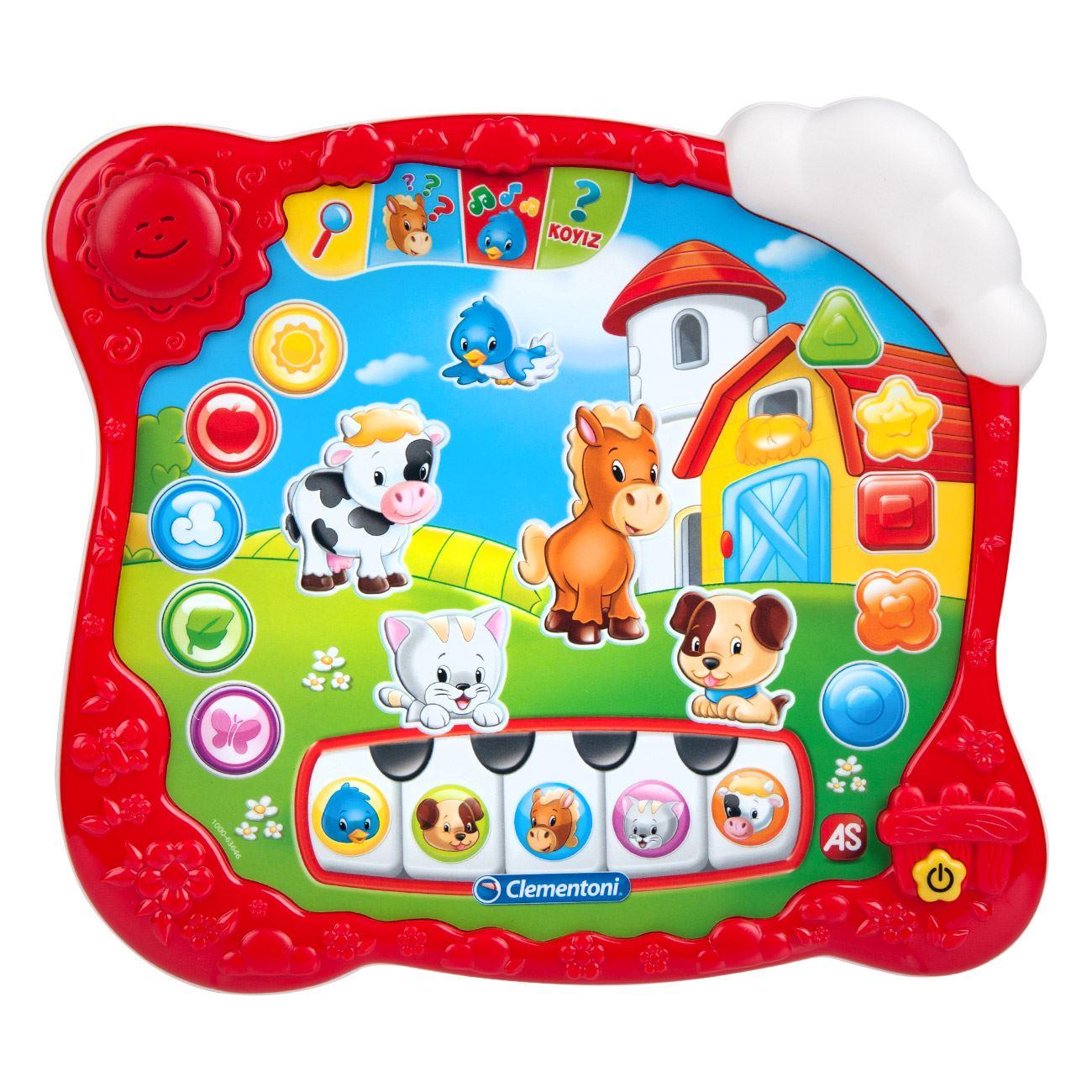 d24c630d4fd1f Acasă   jucarii si jocuri   Jucarii bebe si copii mici   Jucarie bebe prima  tableta educativa interactiva Clementoni