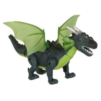 Figurina-Dinozaur-Aripi-Verde