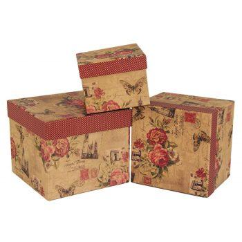 cutii-capac-carton-vintage-trandafiri