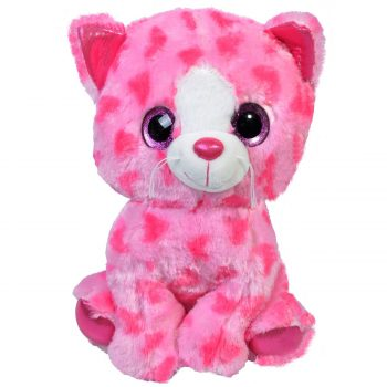 plus-tip-Ty-pisica-roz-ochi-cu-sclipici-28-cm