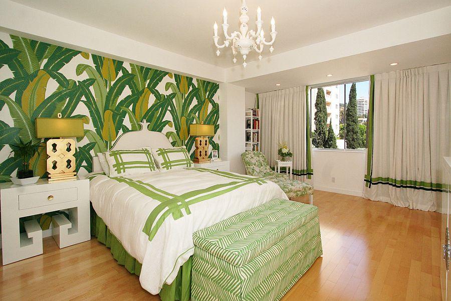 Amenajare dormitor in culori
